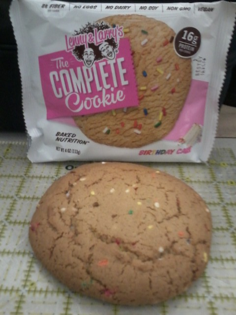 Lenny & Larry Complete Cookie Birthday Cake Review | Corliss Tried It