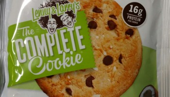 Lenny Larry Complete Cookie Coconut Chocolate Chip Review